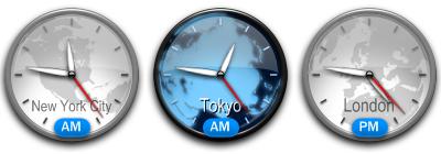 Konfabulator Clock