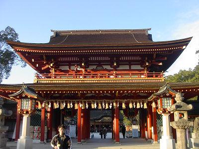 太宰府の門