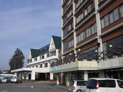 阿蘇のホテル