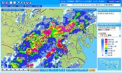 市 入間 雨雲 レーダー